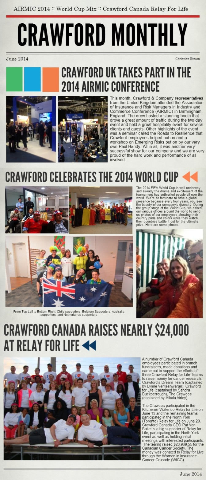 Crawford Monthly June