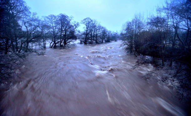 Storm Desmond's raging waters cause flooding in areas of the UK last week.