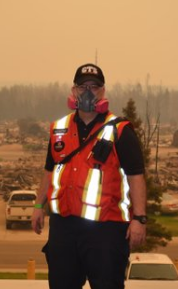 Crawford GTS adjuster Len Raymond is part of Crawford's Rapid Assessment Technical Team, working in wildfire damaged Canada.