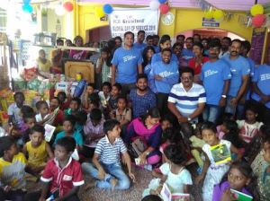 Chennai, India, volunteers
