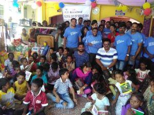 Chennai, India, volunteers