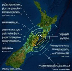 Image credit: USGS Shake Map MMI Contours
